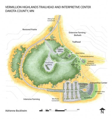Vermillion Highlands Trailhead + Interpretive Center Plan