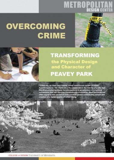 Peavey Park Report cover