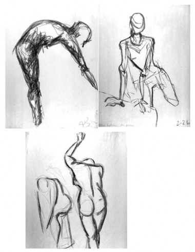 Series of sketches, 2003
