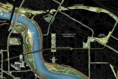 Detail of Final Open Space & Greenway Network