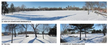 Peavey Park in Winter
