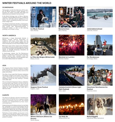 Winter Festivals Around the World