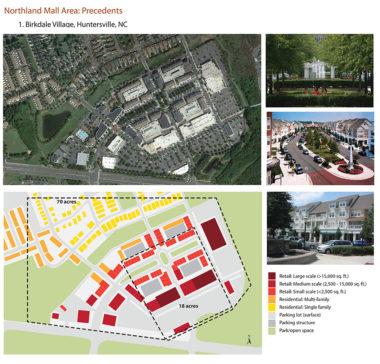 Mall redevelopment precedents